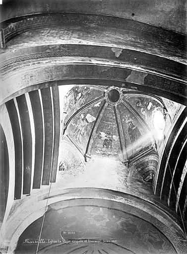 Eglise de la vieille Major (ancienne cathédrale) Coupole et transept, Mieusement, Médéric (photographe),