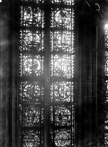Cathédrale Notre-Dame Chapelles du choeur, vitrail C, Gaudin,