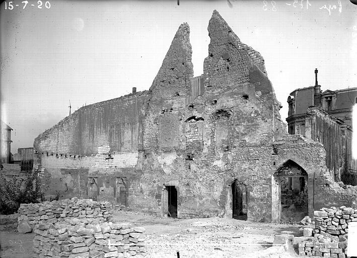 Couvent des Jacobins (vestiges de l'ancien) , Verneau, G.,