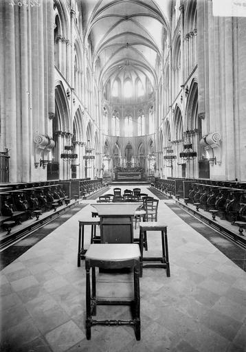 Eglise de Saint-Etienne-le-Vieux (ancienne) Choeur, Service photographique,