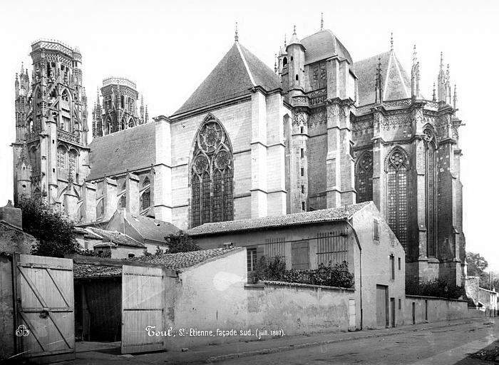 Cathédrale Saint-Etienne (ancienne) Ensemble sud-est, Mieusement, Médéric (photographe),