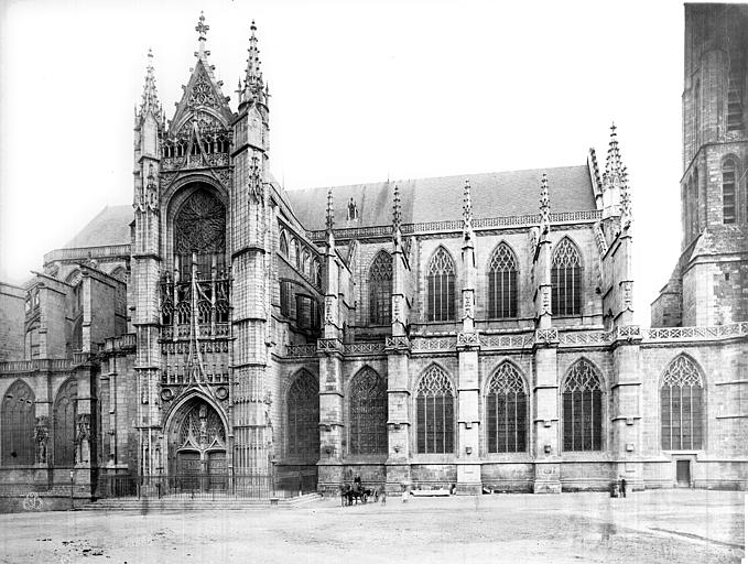 Cathédrale Saint-Etienne Façade nord, Mieusement, Médéric (photographe),