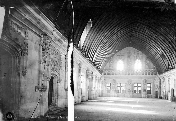 Palais de Justice Grande salle, Mieusement, Médéric (photographe),