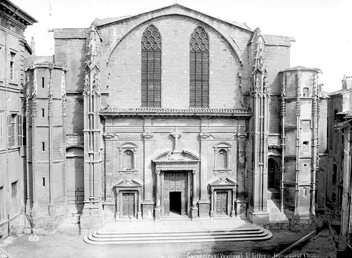 Eglise Saint-Siffrein Façade ouest, Mieusement, Médéric (photographe),