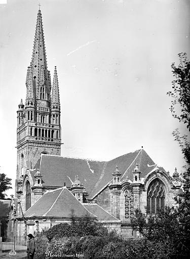 Eglise de Ploaré Ensemble est, Mieusement, Médéric (photographe),