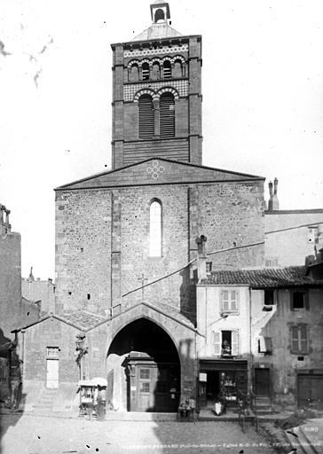 Eglise Notre-Dame-du-Port Façade ouest, Durand, Eugène (photographe),