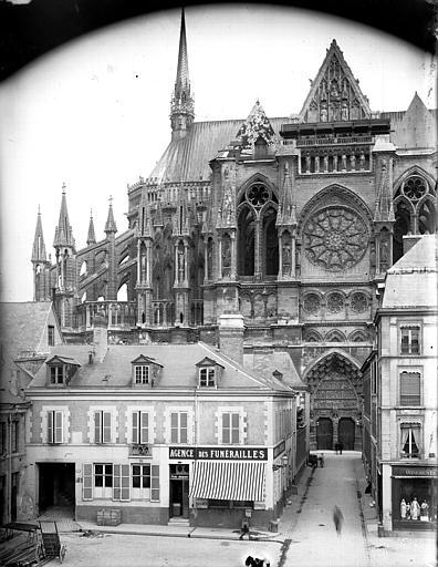 Cathédrale Notre-Dame Abside, côté nord, en hauteur, Lajoie, Abel,