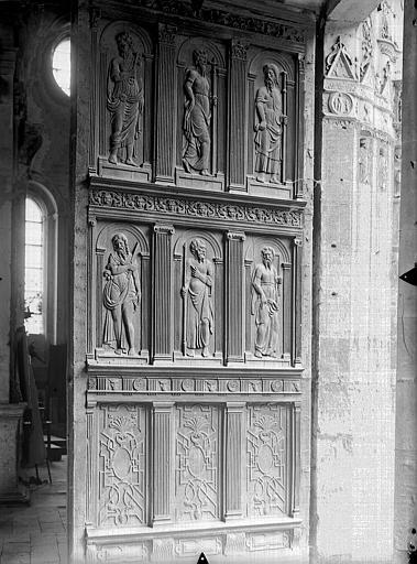 Eglise Saint-Gervais-Saint-Protais Portail ouest, vantail, Gossin (photographe),