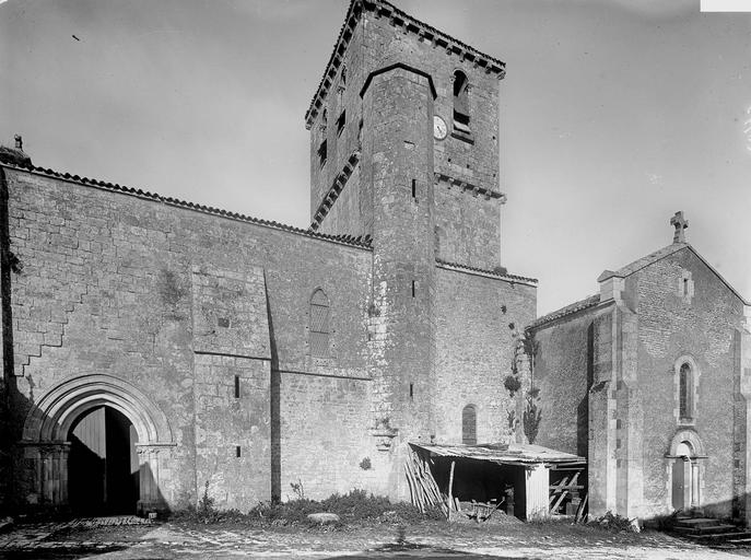 Eglise Ensemble sud, Heuzé, Henri (photographe),