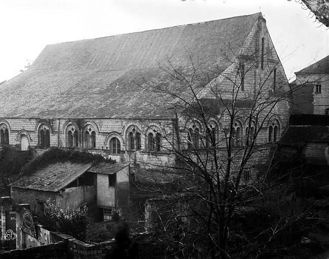Hôtel-Dieu (ancien hôpital Saint-Jean) Ancienne salle des malades : Ensemble sud-ouest, Berthault (photographe),