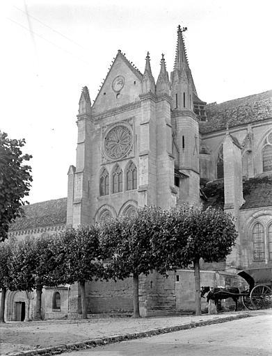 Eglise Saint-Lucien Façade sud : Transept, Chaine, Henri (architecte),