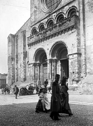 Eglise Saint-Sernin Portail, Chaine, Henri (architecte),