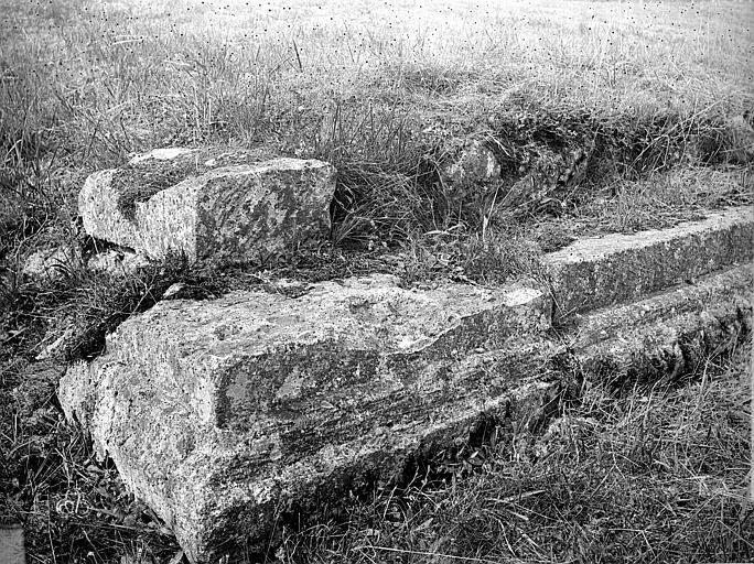 Théâtre ; Ruines gallo-romaines de Champlieu Ensemble et détails, Durand, Jean-Eugène (photographe),