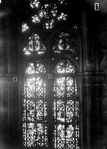 Cathédrale Notre-Dame Chapelles du choeur, vitrail D, Gaudin,
