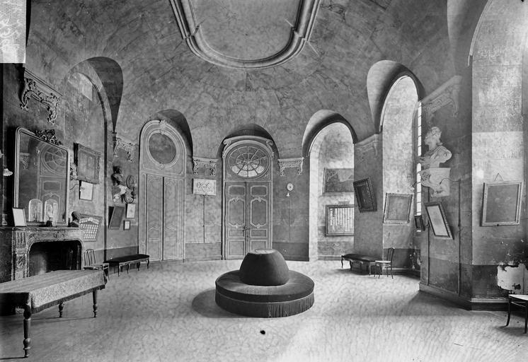 Abbaye aux Hommes (ancienne) Salle ovale, Service photographique,