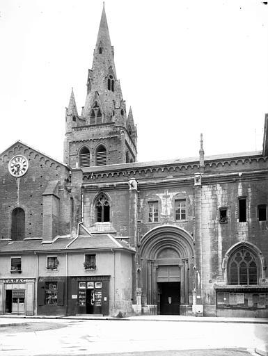 Eglise Saint-André Portail et clocher, Enlart, Camille (historien),
