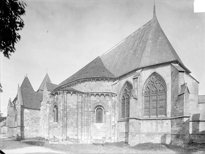 Eglise Vue d'ensemble sud-est, Heuzé, Henri (photographe),