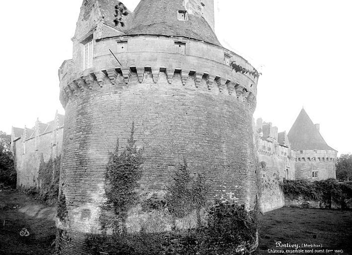 Château de Rohan Ensemble nord-ouest, Mieusement, Médéric (photographe),