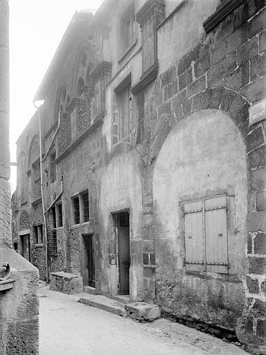 Hôtel de la Chantrerie Façade sur rue, Jarron (photographe),