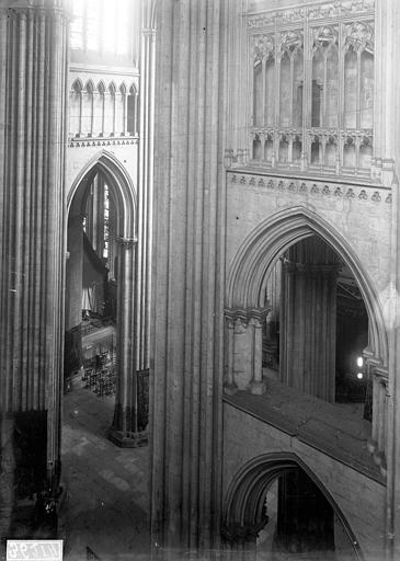 Cathédrale Notre-Dame Transept, partie haute, Enlart, Camille (historien),
