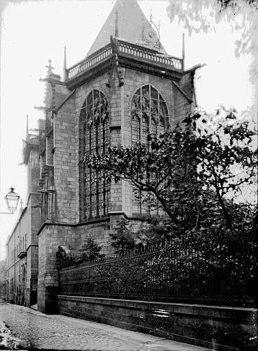 Sainte Chapelle Abside, Enlart, Camille (historien),