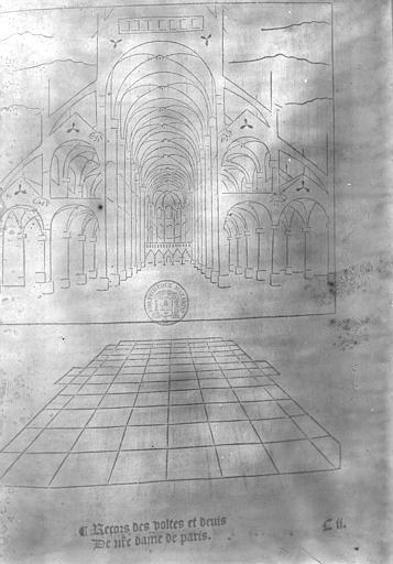 Cathédrale Notre-Dame Nef, Enlart, Camille (historien),