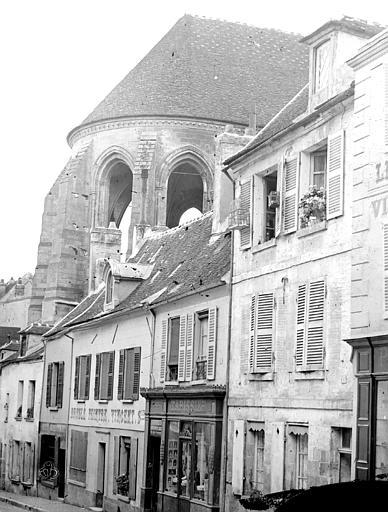 Eglise Saint-Frambourg Abside, Durand, Eugène (photographe),