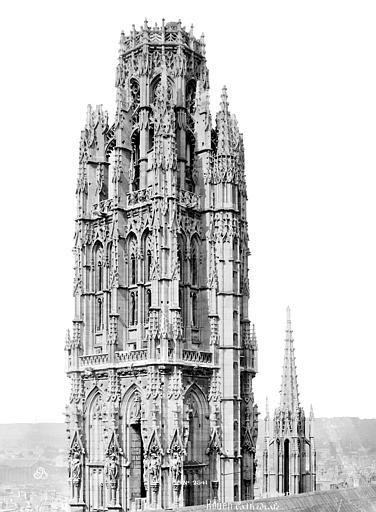 Cathédrale Notre-Dame Tour dite de Beurre : partie supérieure, côté nord-est, Mieusement, Médéric (photographe),
