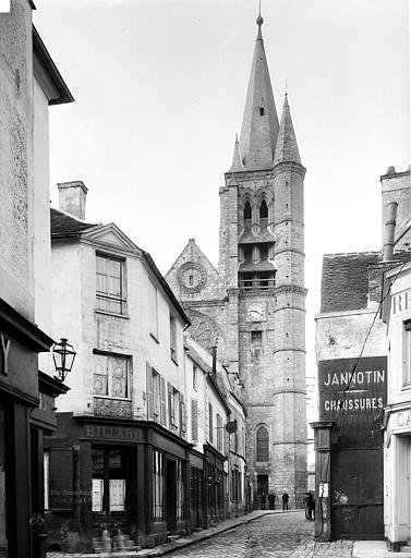 Eglise Saint-Etienne Clocher, Durand, Eugène (photographe),