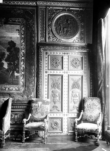 Hôtel de Lauzun ou Hôtel de Pimodan Porte du petit salon, côté gauche, Mieusement, Médéric (photographe),