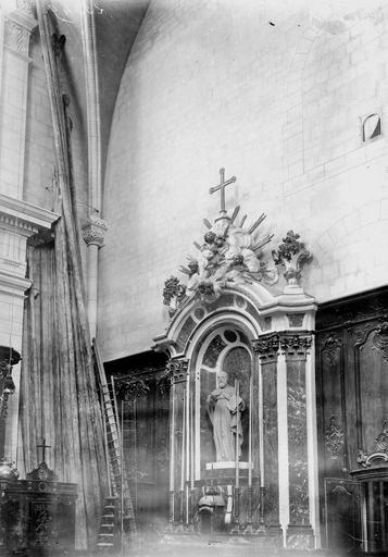 Cathédrale Notre-Dame-de-l'Assomption Autel, Durand, Georges (photographe à Amiens),