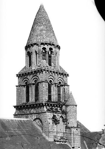 Eglise Notre-Dame-la-Grande Clocher, Durand, Eugène (photographe),