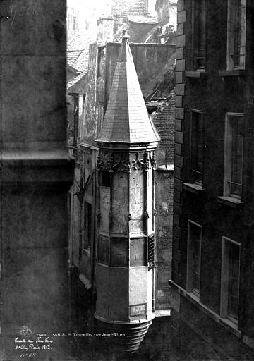 Maison Tourelle d'angle, Le Secq, Henri (photographe),