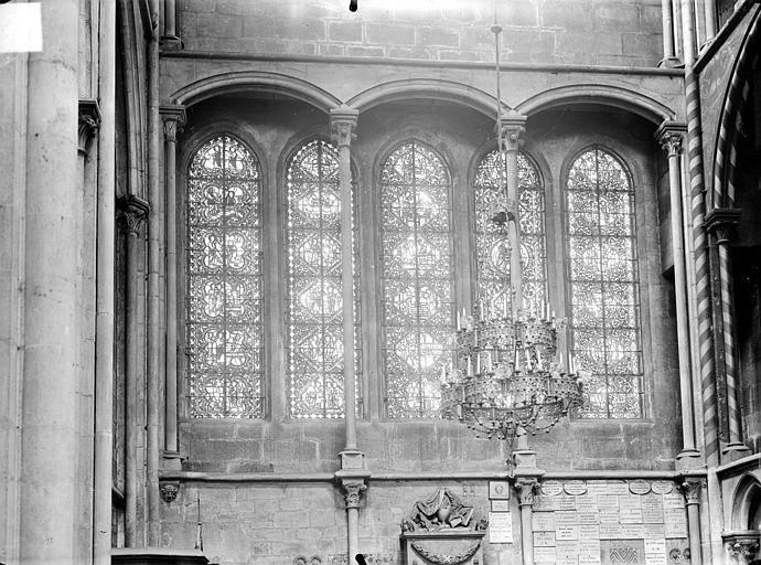 Eglise Notre-Dame Vue intérieure du transept nord : Verrières, Gossin (photographe),