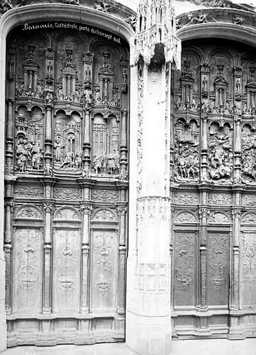 Cathédrale Saint-Pierre Portail du transept sud : porte, Mieusement, Médéric (photographe),