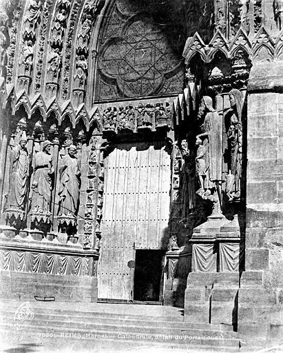 Cathédrale Notre-Dame Portail sud de la façade ouest, Le Secq, Henri (photographe),