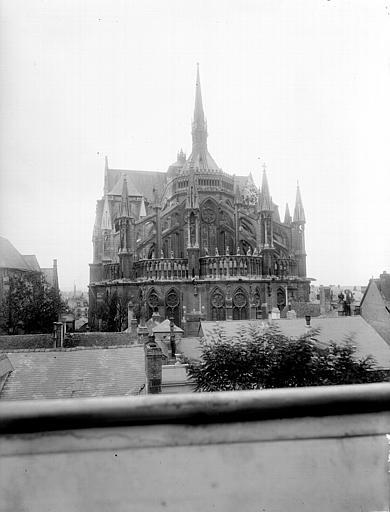 Cathédrale Notre-Dame Ensemble est, Lajoie, Abel,