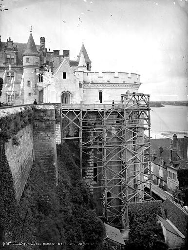 Château Tour des Minimes, côté est, Mieusement, Médéric (photographe),