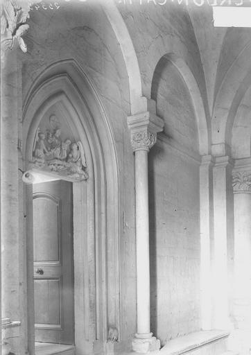 Cathédrale Notre-Dame-de-l'Assomption Colonnes et chapiteaux, Durand, Georges (photographe à Amiens),