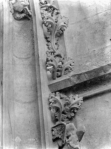 Cathédrale Notre-Dame Vue intérieure du transept nord : détail de la décoration, Mieusement, Médéric (photographe),