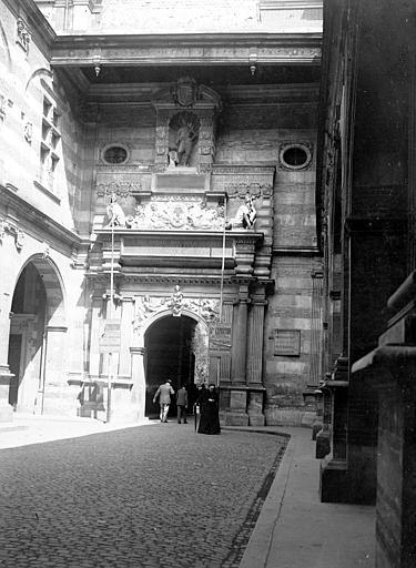 Le Capitole Vue, Chaine, Henri (architecte),