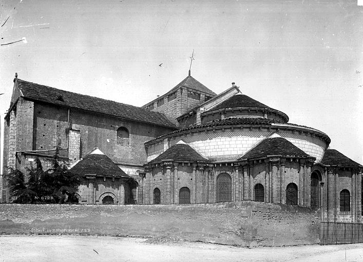 Eglise Saint-Hilaire Abside sud, Durand, Eugène (photographe),