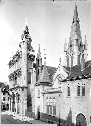 Eglise Notre-Dame Angle sud-ouest, Durand, Jean-Eugène (photographe),