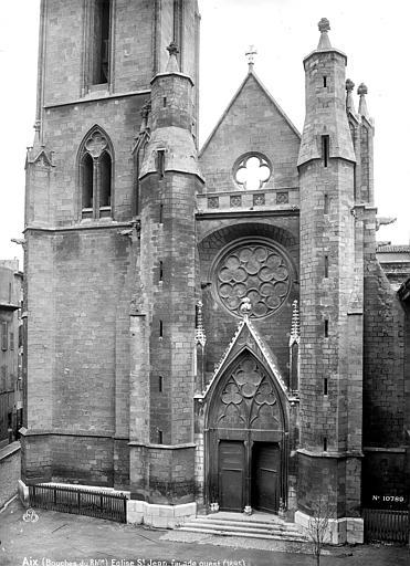 Eglise Saint-Jean Façade ouest, Mieusement, Médéric (photographe),