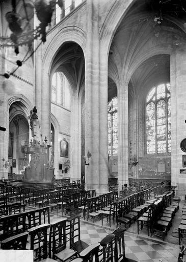 Eglise Vue diagonale, Service photographique,