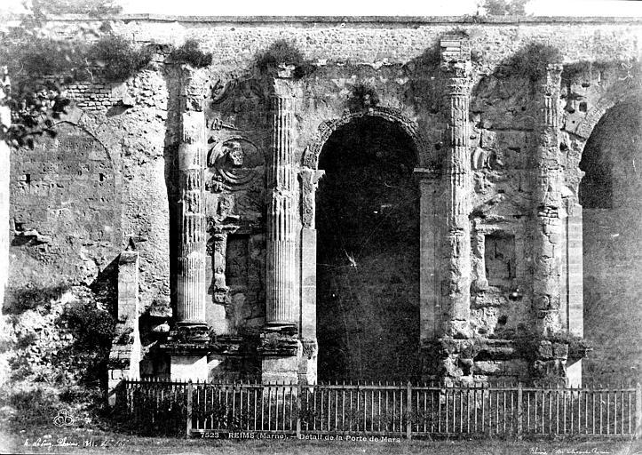 Porte de Mars Arche centrale, Le Secq, Henri (photographe),