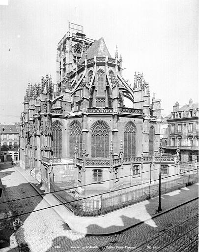 Eglise Saint-Vincent (ancienne) Abside, Neurdein Frères (photographes),