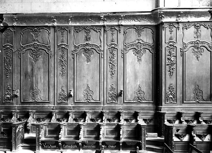 Cathédrale Notre-Dame-de-l'Assomption Stalles et boiseries du choeur, Mieusement, Médéric (photographe),