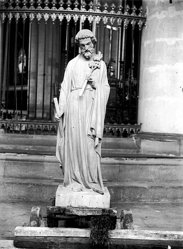 Cathédrale Notre-Dame Statue de saint Joseph, Lajoie, Abel,