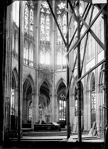 Cathédrale Notre-Dame Chapelle de la Vierge, Enlart, Camille (historien),
